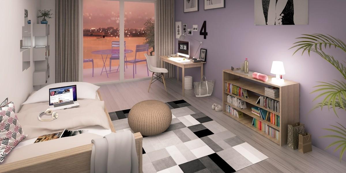 r sidences connect es des innovations au service de l tudiant. Black Bedroom Furniture Sets. Home Design Ideas