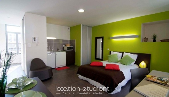 crous saint tienne r sidence les arts saint tienne. Black Bedroom Furniture Sets. Home Design Ideas