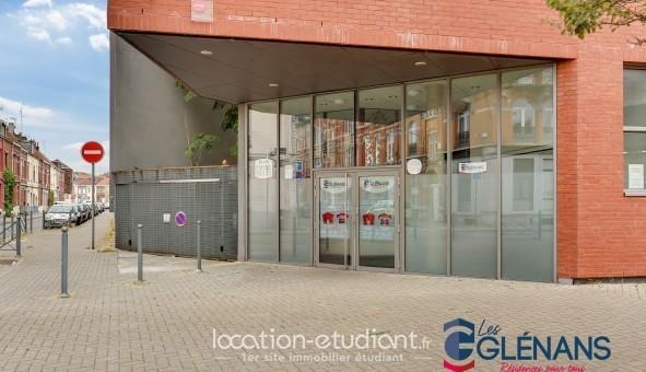 Logement étudiant SAS LES GLENANS - LES GLENANS LILLE  - Lille (Lille)