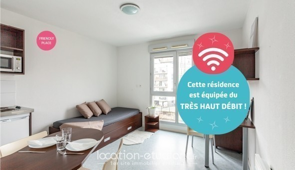 Logement étudiant NEXITY STUDEA - STUDEA JEAN JAURES 2  - Lyon 7ème arrondissement (Lyon 7ème arrondissement)