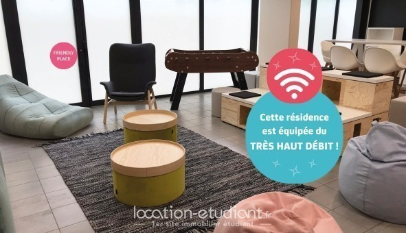 Logement étudiant NEXITY STUDEA - STUDEA LYON VAISE  - Lyon 9ème arrondissement (Lyon 9ème arrondissement)