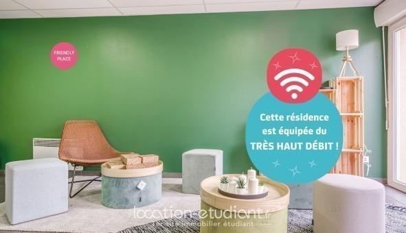 Logement étudiant NEXITY STUDEA - STUDEA MARSEILLE TIMONE  - Marseille 10ème arrondissement (Marseille 10ème arrondissement)