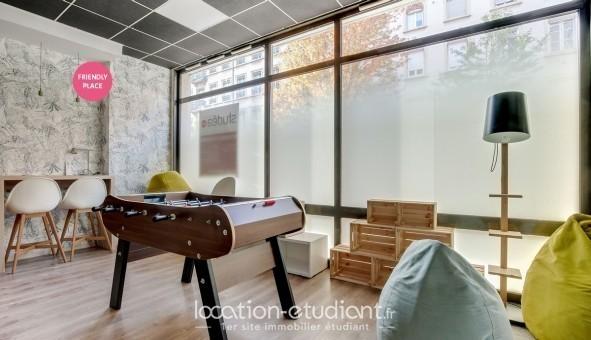 Logement étudiant NEXITY STUDEA - STUDEA SAXE-GAMBETTA  - Lyon 7ème arrondissement (Lyon 7ème arrondissement)