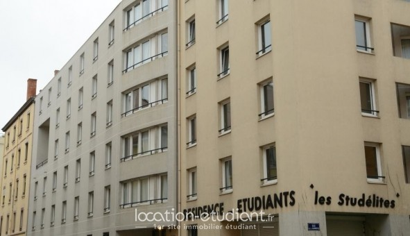 Logement étudiant LES STUDELITES - STUDELITES DALI I                                                    - Lyon 3ème arrondissement (Lyon 3ème arrondissement)