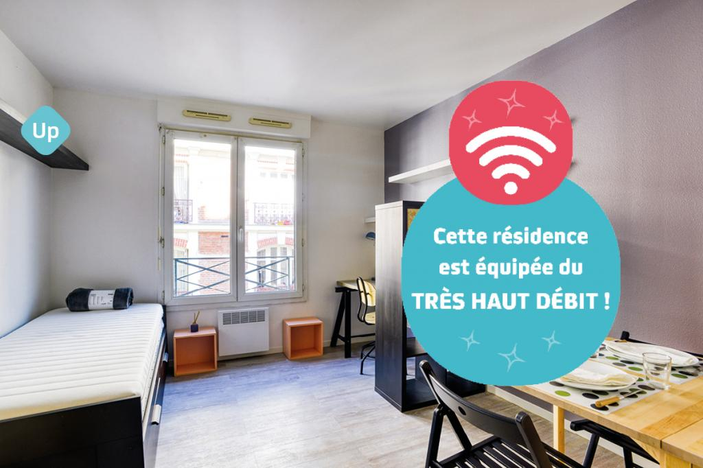 Location NEXITY STUDEA - STUDEA BUTTES CHAUMONT 1 - PARIS (75019)