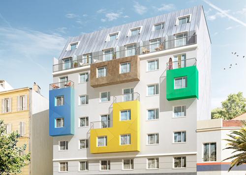 Location PURE GESTION ETUDIANTS - LES BELLES ANNES MARSEILLE CARRE SAINT PIERRE - Marseille   05ème arrondissement (13005)