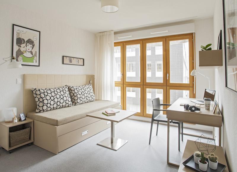 Logement �tudiant PURE GESTION ETUDIANTS - LES BELLES ANNES LE UP  - Lyon - 7�me arrondissement (69007)