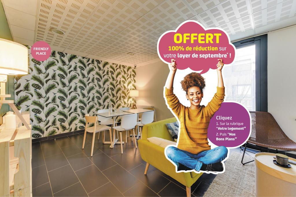 Location NEXITY STUDEA - STUDEA BORDEAUX CHARTRONS - Bordeaux (33300)